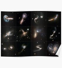 Galaxies Gone Wild Poster