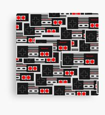 NES Controllers Canvas Print