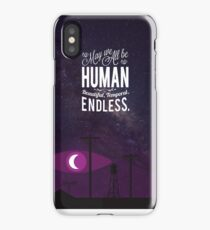 beautiful, temporal, endless iPhone Case/Skin