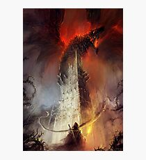 Re-imagined Shadowgate Photographic Print
