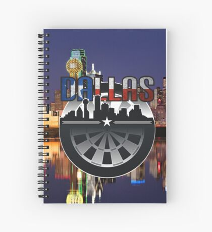 Darts Dallas Spiral Notebook