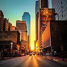 Elm Street Sunset, Dallas by josephhaubert