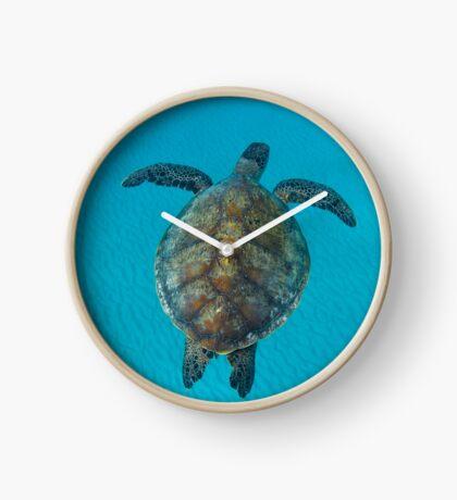 Peace turtle - print Clock