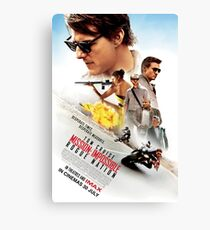 mission impossible Canvas Print