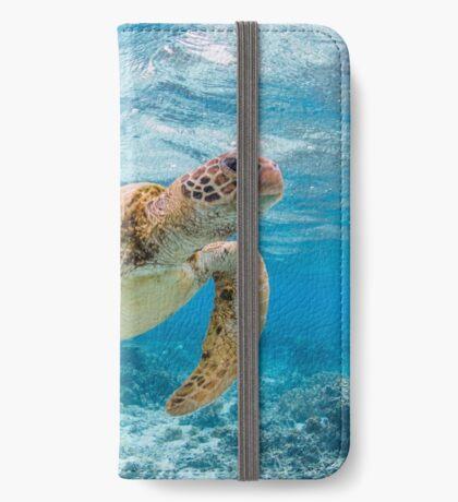Turtle star iPhone Wallet