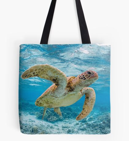 Turtle star Tote Bag