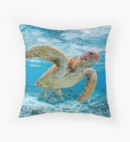 Turtle star Throw Pillow