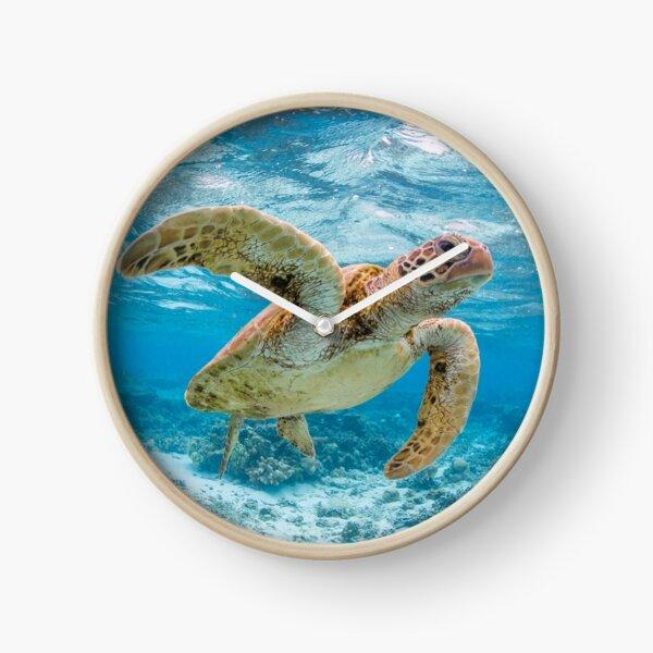 Turtle star Clock