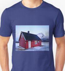 Snow Cabin Day Unisex T-Shirt