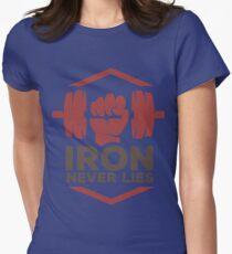 Iron Never Lies Womens Fitted T-Shirt