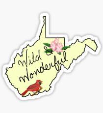 Wild AND wonderful WV Sticker