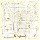 Peking Karte Gold von HubertRoguski