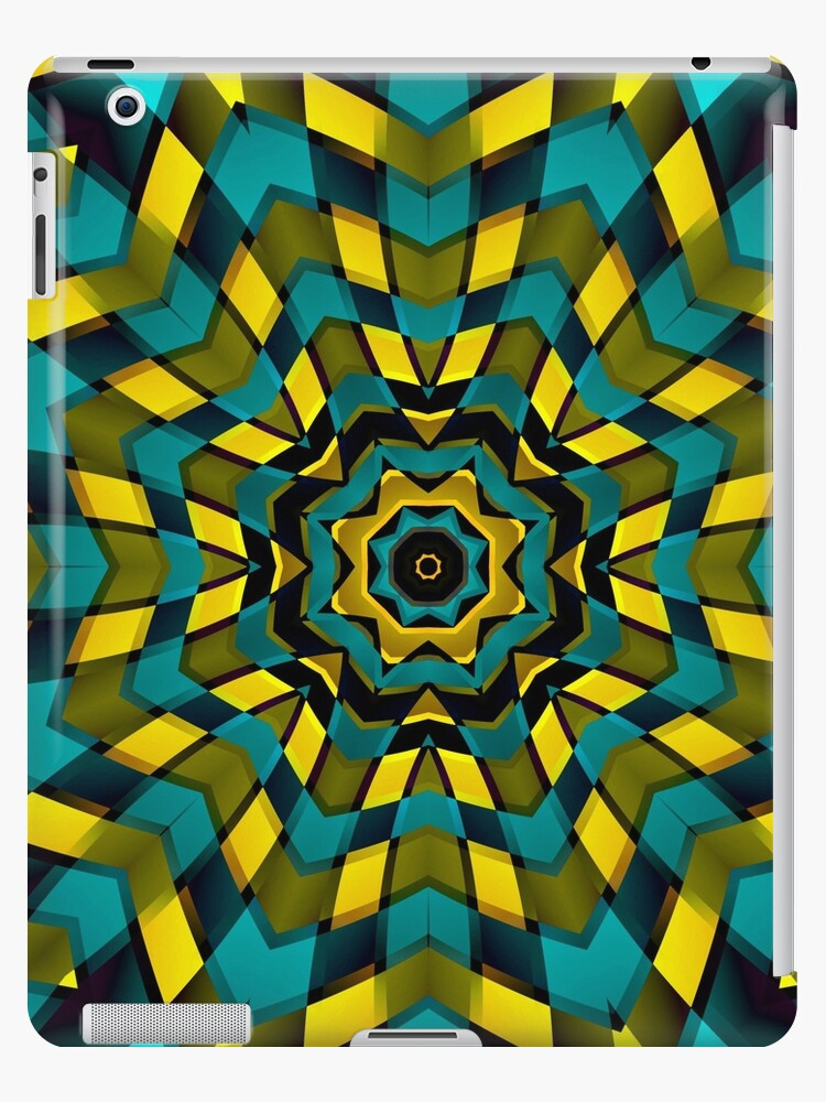 Geometric Kaleidoscope by MEDUSA GraphicART