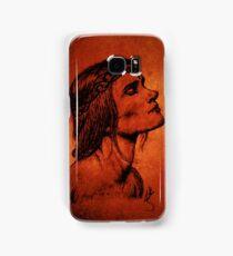 A Woman Born from Fire Samsung Galaxy Case/Skin