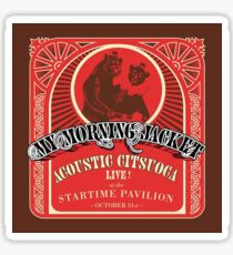 Acoustic Citsuoca Album Cover MMJ Sticker