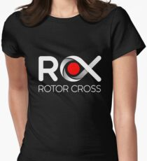 ROX - Rotor Cross Womens Fitted T-Shirt