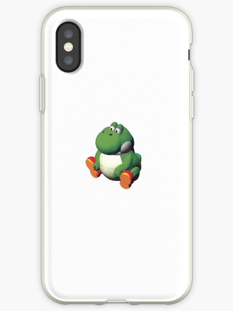 Fat Yoshi Iphone Cases Covers By Juliasoulsby Redbubble