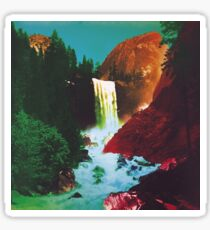 The Waterfall Album Cover MMJ Sticker