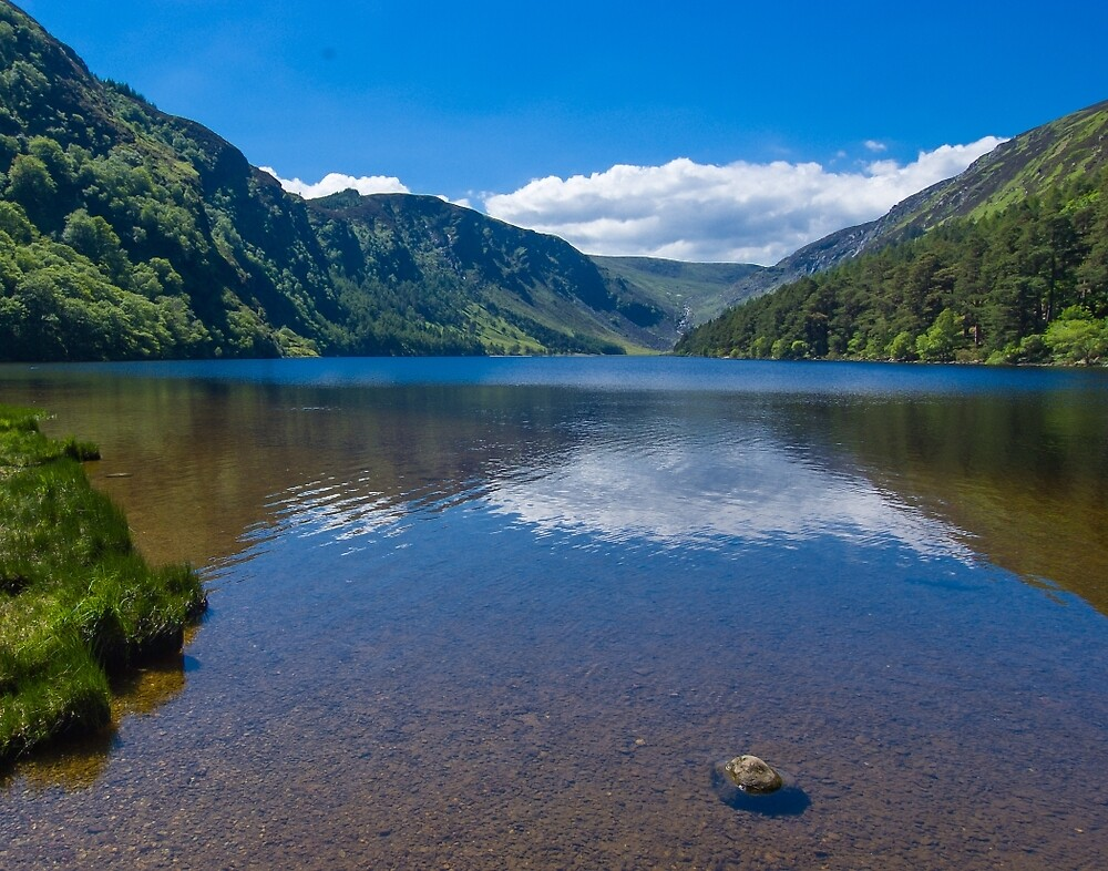 Upper Lake at Glendalough by Yukondick