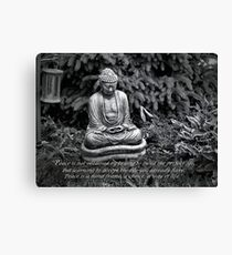Finding Peace Canvas Print