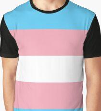 Transgender Pride Flag Shirt Graphic T-Shirt