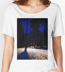 nature snow Women's Relaxed Fit T-Shirt