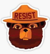 RESISTEY THE BEAR Sticker