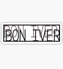 Bon Iver Sticker