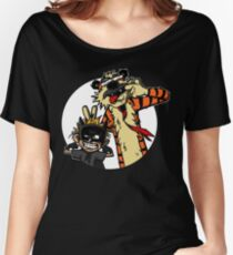 Calvin Hobbes Women's Relaxed Fit T-Shirt