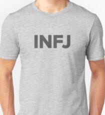 INFJ - Dunkelgrau Slim Fit T-Shirt