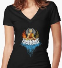 legend Women's Fitted V-Neck T-Shirt