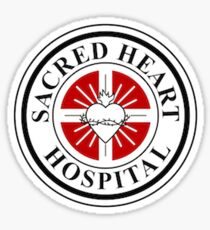 SACRED HEART HOSPITAL BC SCRUBS IS THE BEST Sticker