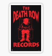 Pegatina Death row Large