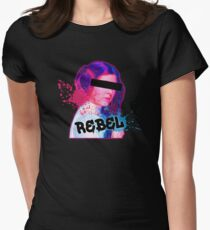 Star Wars - Leia Rebel Womens Fitted T-Shirt