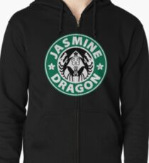 The Jasmine Dragon Zipped Hoodie