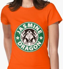 The Jasmine Dragon Womens Fitted T-Shirt