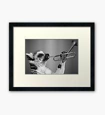 Lemur Music Framed Print