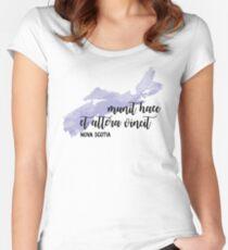 Nova Scotia Women's Fitted Scoop T-Shirt
