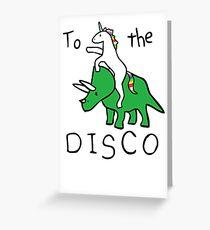 unicorn Greeting Card