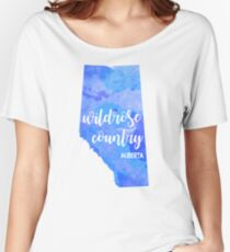 Alberta - Wildrose Country Women's Relaxed Fit T-Shirt
