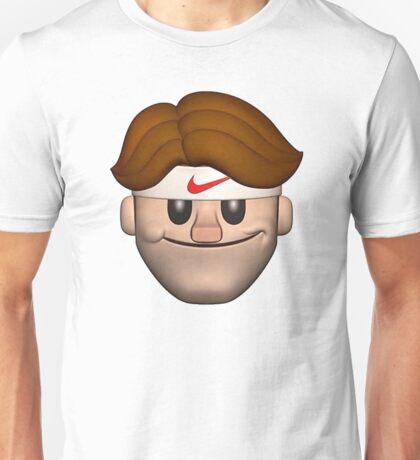Sport Roger Federer Emoji Unisex T-Shirt