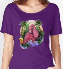 Flamingo Women's Relaxed Fit T-Shirt