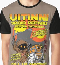 Droid repairs! Graphic T-Shirt