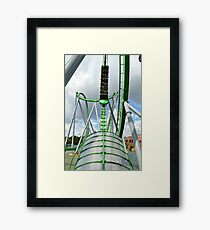 Incredible Hulk Tunnel Framed Print