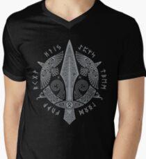 GUNGNIR T-Shirt mit V-Ausschnitt für Männer
