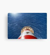 Coastal Startrails Canvas Print