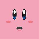 Kirby face by gingerraccoon