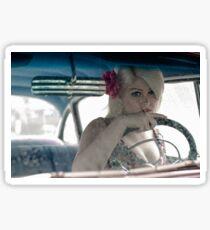 Driving Doris Sticker