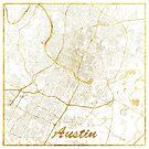 Austin Karte Gold von HubertRoguski