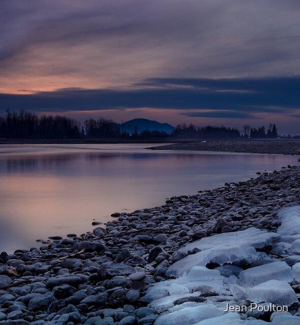 Fraser River West by Jean Poulton